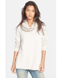 Free People 'Beach Cocoon' Cowl Neck Pullover - Lyst