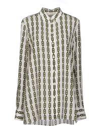 Celine White Shirt - Lyst