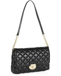 Calvin Klein Quilted Crossbody Bag - Lyst