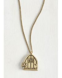 Zad Fashion Inc. - Passageway To Your Heart Necklace - Lyst