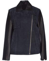 Alexander Wang Mid-Length Jacket - Lyst
