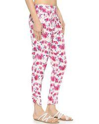 Tori Praver Swimwear - Ashwood Pants - Casablanca Seashell - Lyst