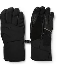 Kjus Formula Leather-panneled Gloves - Lyst