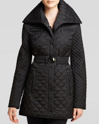 Laundry by Shelli Segal - Coat - Quilted Shawl Collar - Lyst