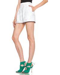 Peter Pilotto - Grace Cotton-blend Shorts - Lyst