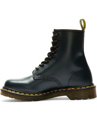 Dr. Martens Navy Leather 8_eye Boots - Lyst