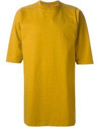 Rick Owens Oversize Sweatshirt - Lyst