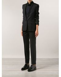 Stella McCartney Lapel Jacket with Classic Trousers - Lyst