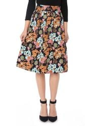 YAL New York - Pleated Skirt With Zipper In Back - Lyst