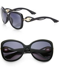 Dior Twisting Square Sunglasses - Lyst