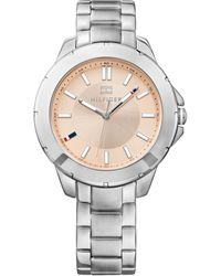 Tommy Hilfiger Womens Stainless Steel Bracelet Watch 38mm - Lyst