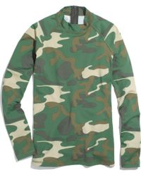 Madewell Long Sleeve Rash Guard in Camo - Lyst