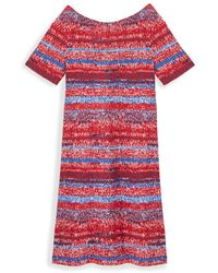 Tory Burch Cotton T-Shirt Dress - Lyst