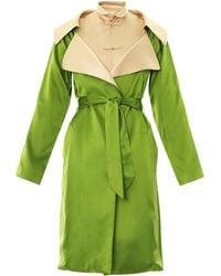 Jean Paul Gaultier - Bicolour Silk Kimono Dress - Lyst