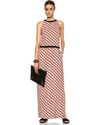 Sass & Bide From Drummer To Driver Viscose Dress - Lyst