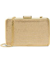 Michael by Michael Kors Elsie Crystal Box Clutch Bag - Lyst