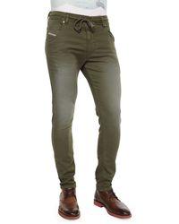 Diesel Krooley Faded Jogger Denim Jeans - Lyst