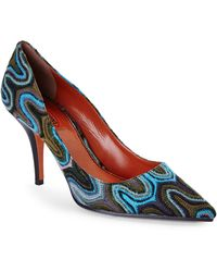 Missoni Printed Pumps - Lyst