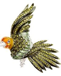 Brooks Brothers - Audubon Parrot Brooch - Lyst