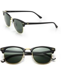 ray ban iconic clubmaster sunglasses  ray ban