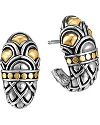John Hardy Naga Shrimp Earrings - Lyst