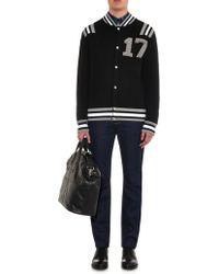Givenchy - 17 Varsity Wool Cardigan - Lyst