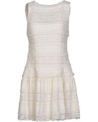 Alice + Olivia Short Dress - Lyst
