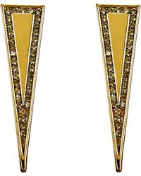 House Of Harlow Earrings Athenas Shield - Lyst