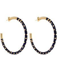 Aurelie Bidermann Earrings gold - Lyst
