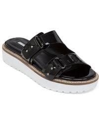 BCBGeneration - Veranda Patent Leather Sandals - Lyst