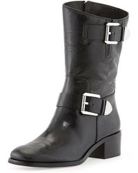 Michael by Michael Kors Robin Leather Boot - Lyst