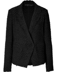 Donna Karan New York Linencotton Blazer - Lyst