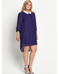 Lovedrobe Jewel Collar Swing Dress Sizes 1628 - Lyst
