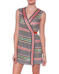 Missoni Copricost Wrap Dress - Lyst