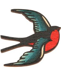 Tatty Devine - Swallow Bird Brooch - Lyst