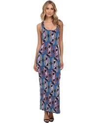 T-bags Maxi Dress - Lyst