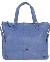 Gianfranco Ferré Handbag blue - Lyst