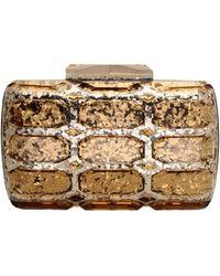 Gucci Gold Handbag - Lyst
