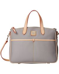 Dooney & Bourke Carley Large Daniela Satchel - Lyst