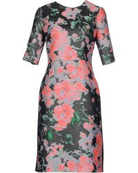 Erdem Knee-Length Dress pink - Lyst