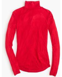 J.Crew | 10 Percent Turtleneck T-shirt | Lyst