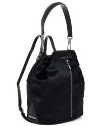 Elizabeth And James Cynnie Sling Calfhair Backpack - Lyst