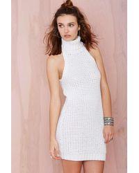 Nasty Gal Knitty Gritty Dress - Lyst