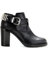 McQ | Leather Ankle Boots | Lyst