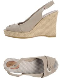 Tommy Hilfiger Sandals - Lyst
