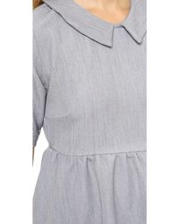 Elkin Baba Dress Fog - Lyst