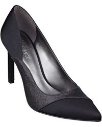 Nine West Caviar Pointed Toe Pumps - Lyst