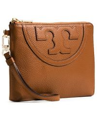 Tory Burch All-T Large Wristlet - Lyst