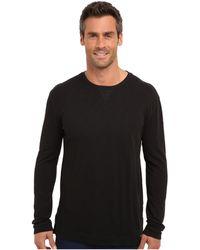 Calvin Klein Jeans Ls Heavy Weight Slub Crew - Lyst