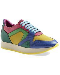 Burberry 'Fields' Sneaker - Lyst